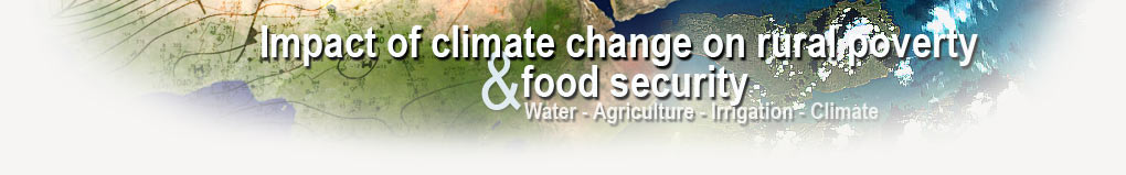 Impact of climate change on rural poverty and food security